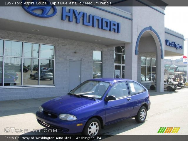 lapis blue metallic 1997 ford aspire coupe medium. Black Bedroom Furniture Sets. Home Design Ideas
