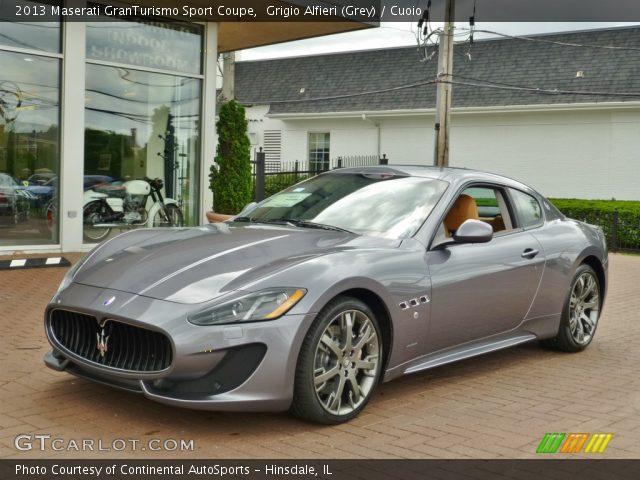2013 Maserati GranTurismo Sport Coupe in Grigio Alfieri (Grey)