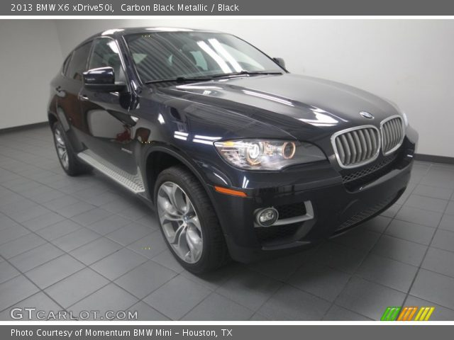 carbon black metallic 2013 bmw x6 xdrive50i black. Black Bedroom Furniture Sets. Home Design Ideas