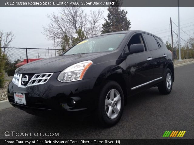 Super black 2012 nissan rogue s special edition awd - 2012 nissan rogue exterior colors ...