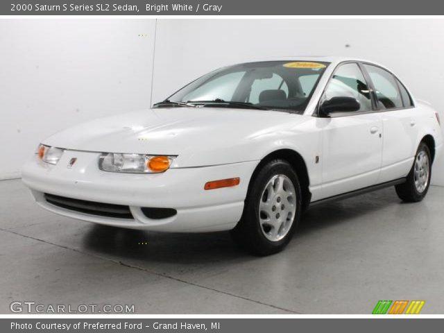 bright white 2000 saturn s series sl2 sedan gray interior vehicle archive. Black Bedroom Furniture Sets. Home Design Ideas