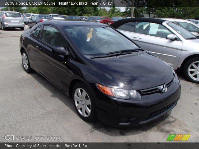 2008 honda civic lx coupe in nighthawk black pearl click to see large. Black Bedroom Furniture Sets. Home Design Ideas
