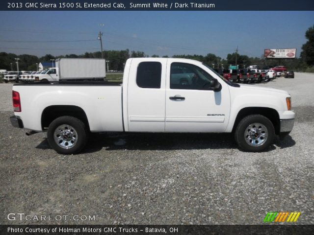 2013 GMC Sierra 1500 SL Extended Cab in Summit White