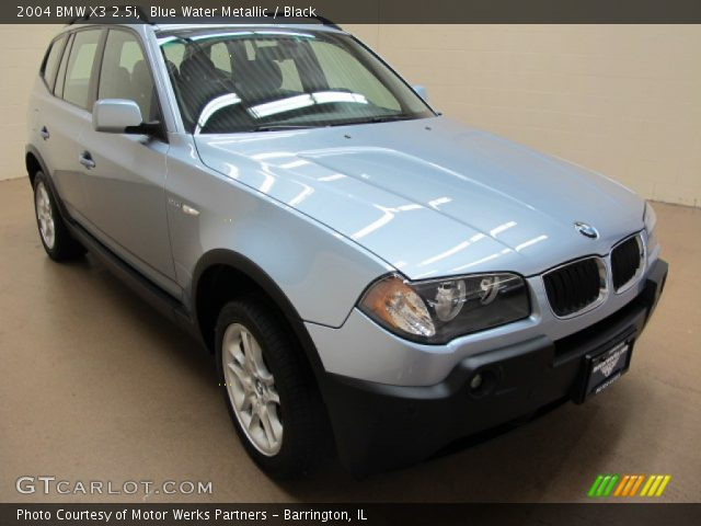 blue water metallic 2004 bmw x3 black interior. Black Bedroom Furniture Sets. Home Design Ideas