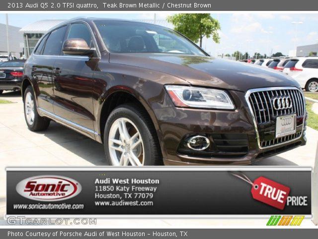 2013 Audi Q5 Chestnut Brown Interior Images & Pictures - Becuo
