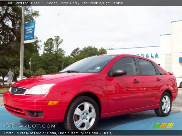 infra red 2006 ford focus zx4 ses sedan dark pebble. Black Bedroom Furniture Sets. Home Design Ideas