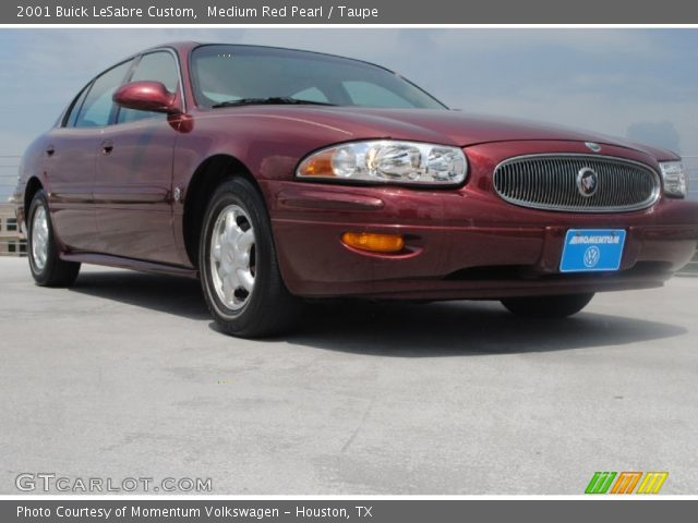 medium red pearl 2001 buick lesabre custom taupe interior vehicle archive. Black Bedroom Furniture Sets. Home Design Ideas