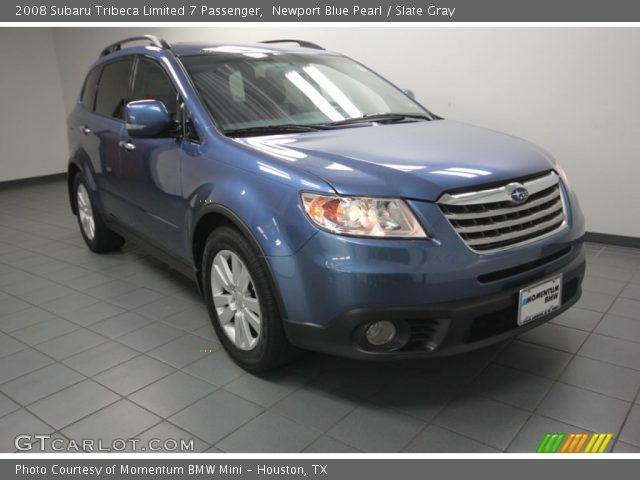 2008 Subaru Tribeca Limited 7 Passenger in Newport Blue Pearl