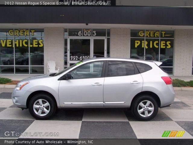 Brilliant silver 2012 nissan rogue s special edition - 2012 nissan rogue exterior colors ...