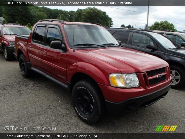 Toreador Red Metallic 2001 Ford Explorer Sport Trac 4x4 Dark Graphite Interior Gtcarlot