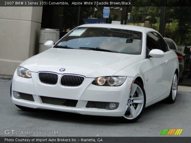 2007 BMW 3 Series 335i Convertible In Alpine White