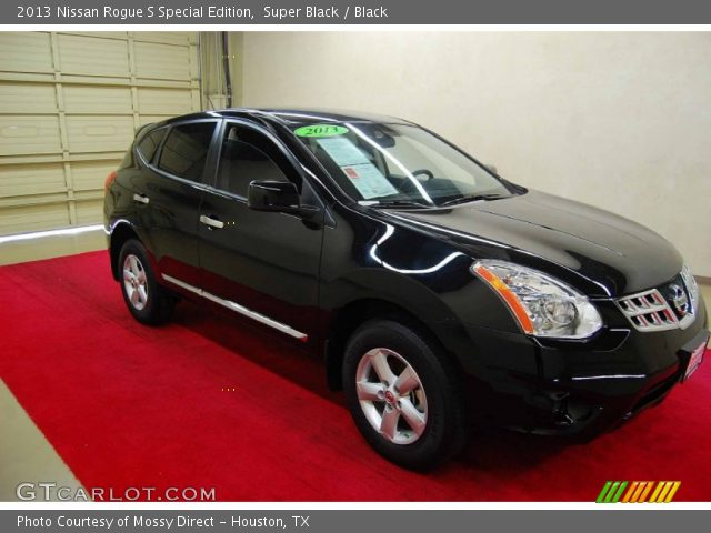 2013 Nissan Rogue S Special Edition in Super Black