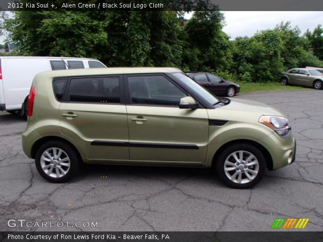 Alien green 2012 kia soul black soul logo cloth interior vehicle archive 2012 kia soul exterior colors