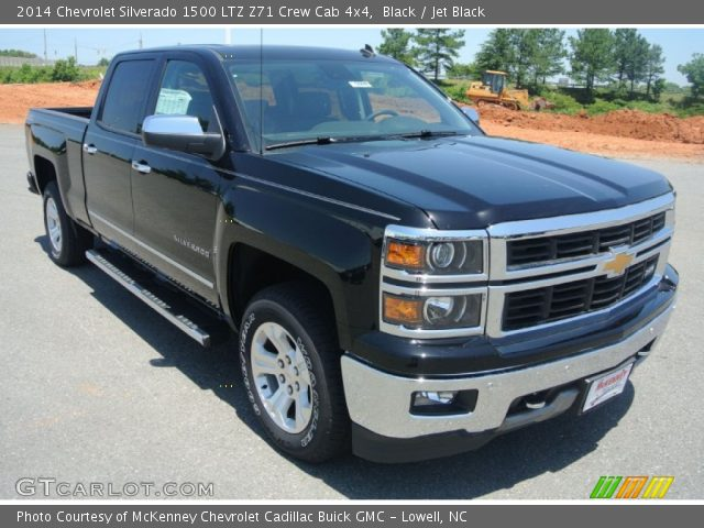 Chevy Silverado Black 2014