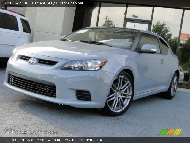 Scion Cement Grey : Cement gray scion tc dark charcoal interior