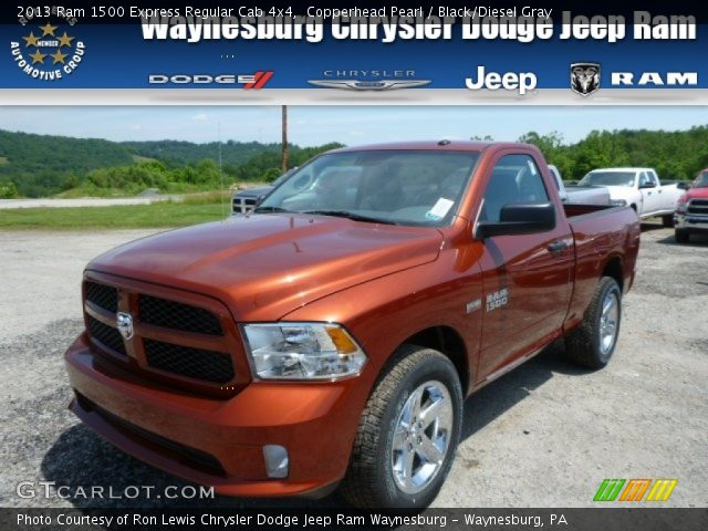 2013 Ram 1500 Express Regular Cab 4x4 in Copperhead Pearl
