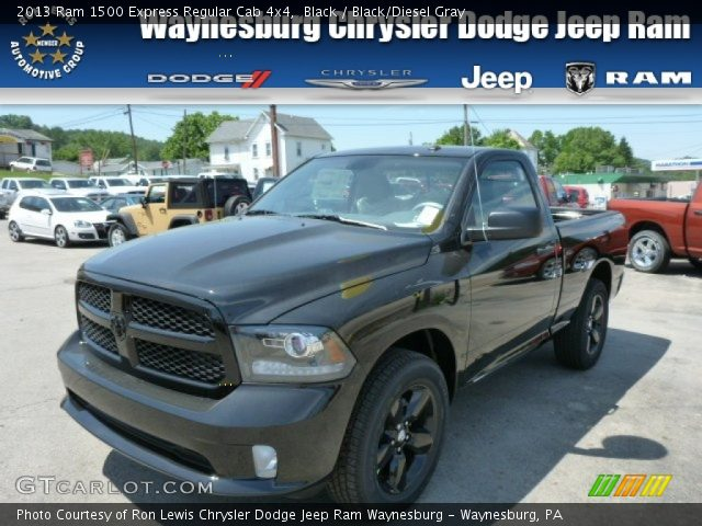 2013 Ram 1500 Express Regular Cab 4x4 in Black