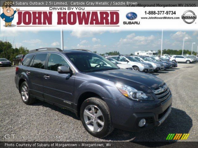 2014 Subaru Outback 2.5i Limited in Carbide Gray Metallic