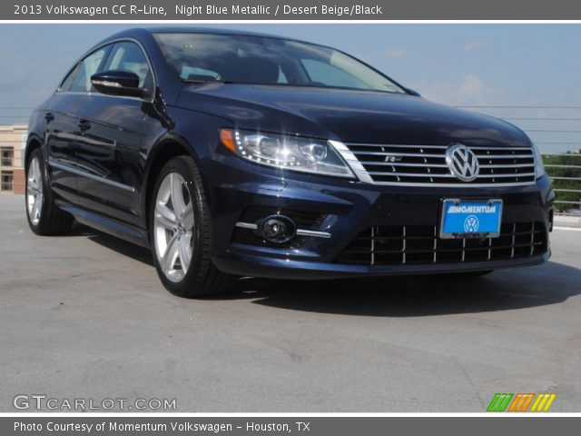 2013 Volkswagen CC R-Line in Night Blue Metallic