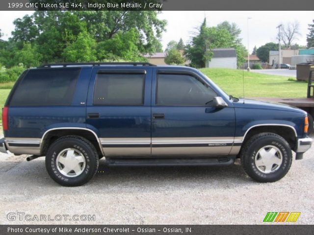 1999 GMC Yukon SLE 4x4 in Indigo Blue Metallic