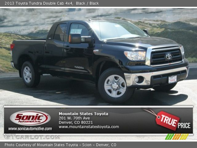 black 2013 toyota tundra double cab 4x4 black interior vehicle archive. Black Bedroom Furniture Sets. Home Design Ideas