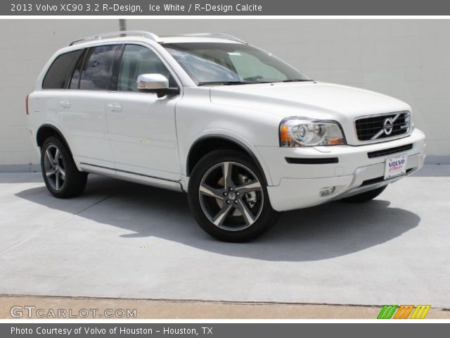 2013 Volvo XC90 3.2 R-Design in Ice White