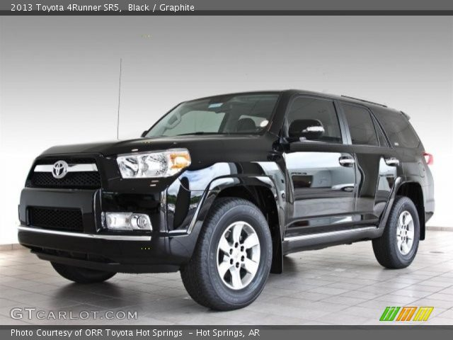 black 2013 toyota 4runner sr5 graphite interior vehicle archive 82501018. Black Bedroom Furniture Sets. Home Design Ideas
