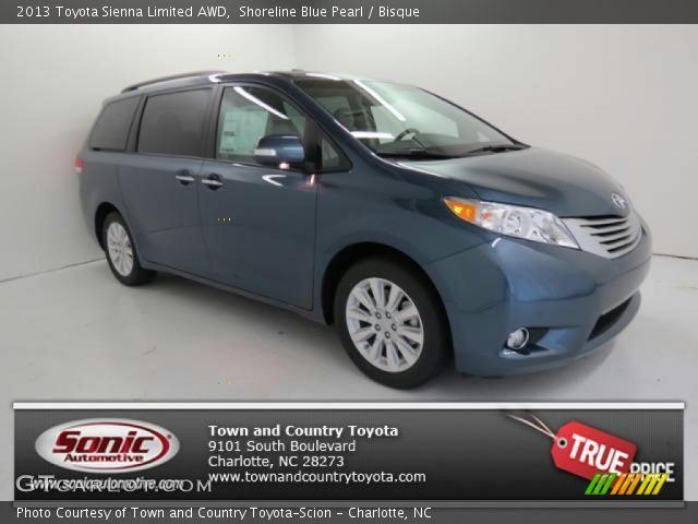shoreline blue pearl 2013 toyota sienna limited awd. Black Bedroom Furniture Sets. Home Design Ideas