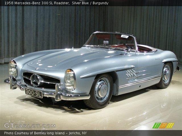 1958 Mercedes-Benz 300 SL Roadster in Silver Blue