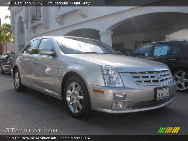 2005 Cadillac STS V6 in Light Platinum