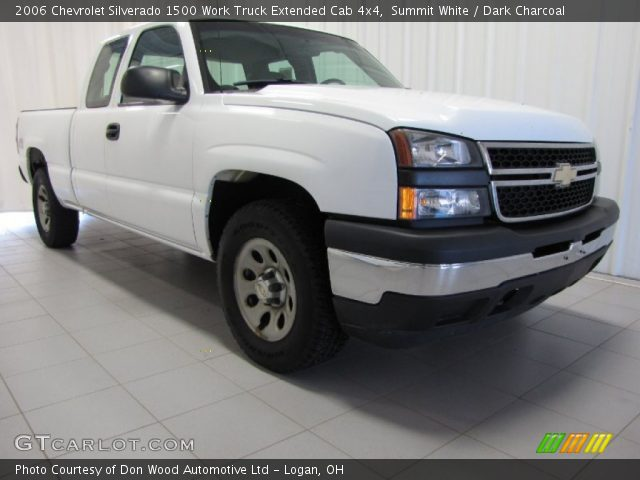 2006 Chevrolet Silverado 1500 Work Truck Extended Cab 4x4 in Summit White