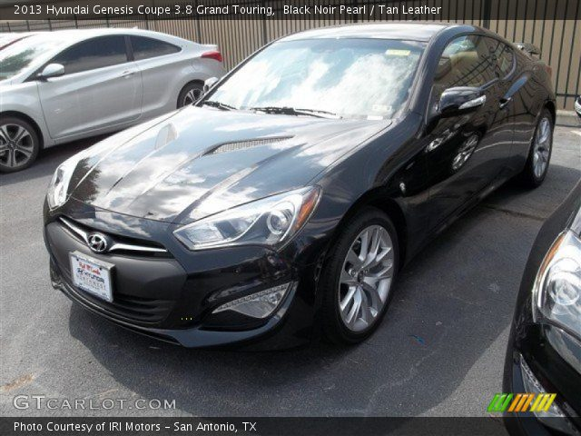 2013 Hyundai Genesis Coupe 3.8 Grand Touring in Black Noir Pearl