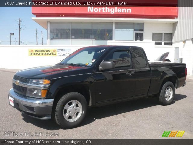 black 2007 chevrolet colorado lt extended cab very. Black Bedroom Furniture Sets. Home Design Ideas