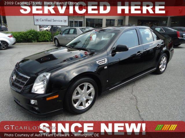 2009 Cadillac STS V6 in Black Raven