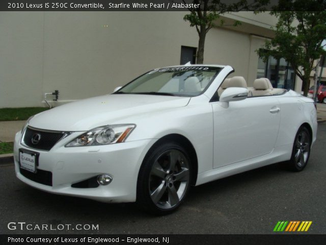 starfire white pearl 2010 lexus is 250c convertible. Black Bedroom Furniture Sets. Home Design Ideas
