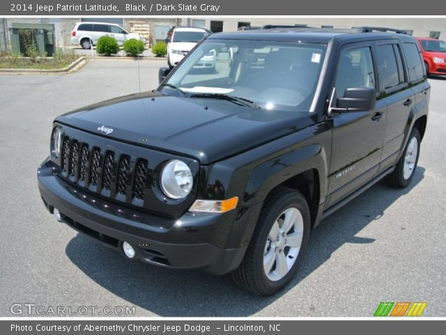 black 2014 jeep patriot latitude dark slate gray interior. Cars Review. Best American Auto & Cars Review