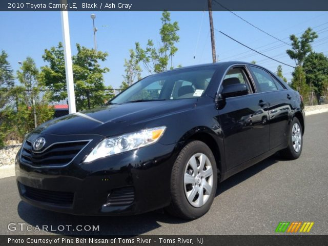 black 2010 toyota camry le ash gray interior vehicle archive 82732368. Black Bedroom Furniture Sets. Home Design Ideas