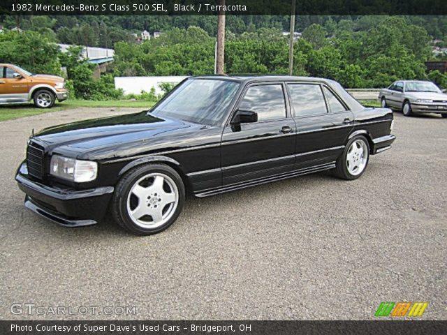 1982 Mercedes-Benz S Class 500 SEL in Black