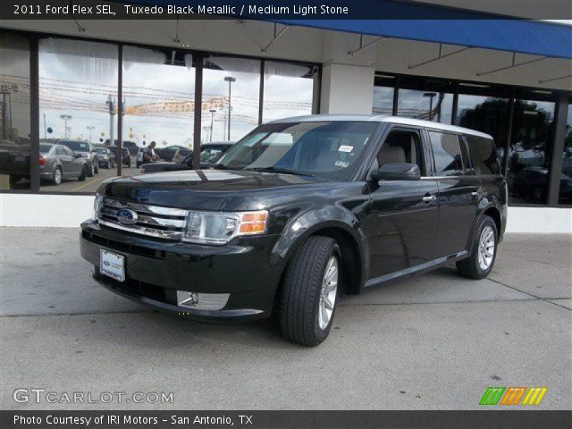 tuxedo black metallic 2011 ford flex sel medium light. Black Bedroom Furniture Sets. Home Design Ideas