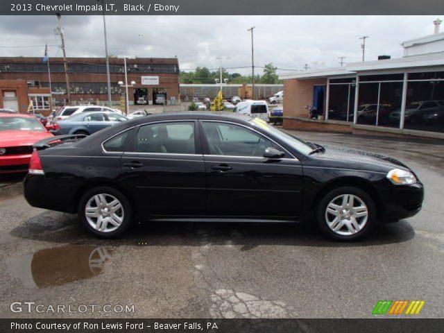 Black 2013 Chevrolet Impala Lt Ebony Interior Vehicle Archive 82790543