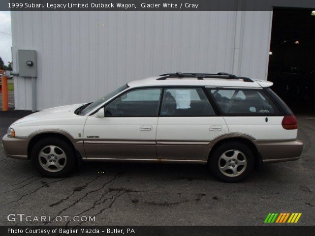 glacier white 1999 subaru legacy limited outback wagon. Black Bedroom Furniture Sets. Home Design Ideas