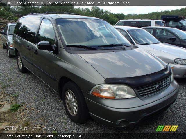 spruce green metallic 2002 ford windstar lx medium parchment beige interior gtcarlot com vehicle archive 82846040 gtcarlot com