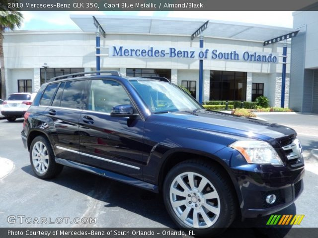 2010 Mercedes-Benz GLK 350 in Capri Blue Metallic