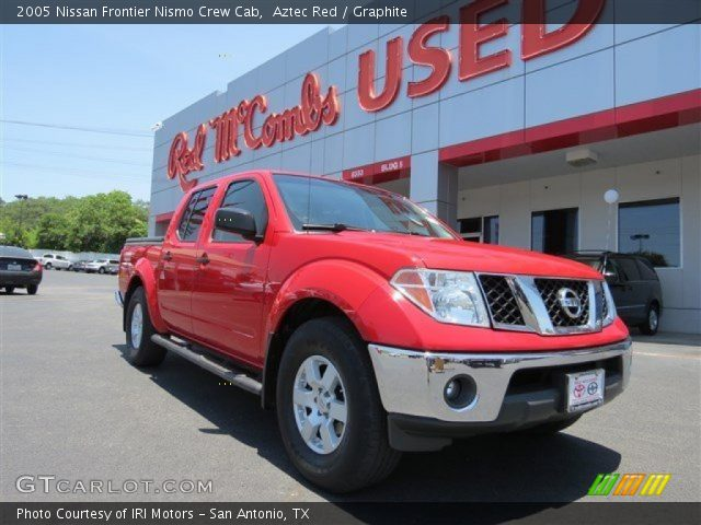 aztec red 2005 nissan frontier nismo crew cab graphite. Black Bedroom Furniture Sets. Home Design Ideas
