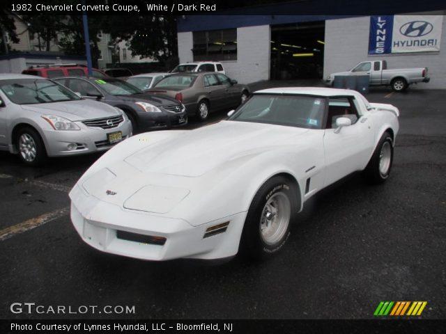 1982 Chevrolet Corvette Coupe in White