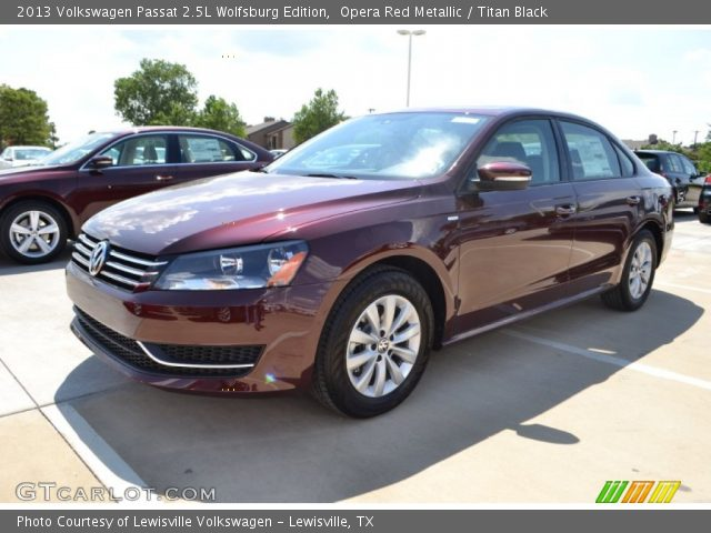 opera red metallic 2013 volkswagen passat 2 5l wolfsburg. Black Bedroom Furniture Sets. Home Design Ideas