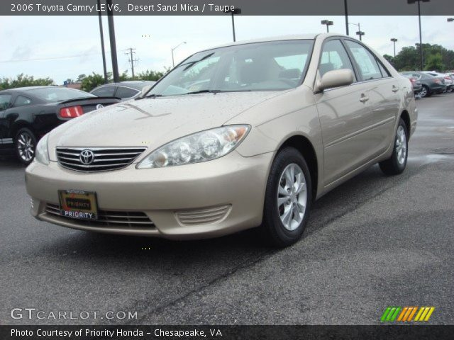 desert sand mica 2006 toyota camry le v6 taupe. Black Bedroom Furniture Sets. Home Design Ideas