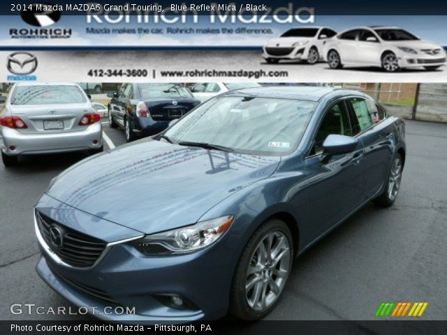 2014 Mazda MAZDA6 Grand Touring in Blue Reflex Mica