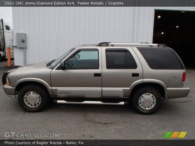2001 gmc jimmy diamond edition 4x4 in pewter metallic click to see