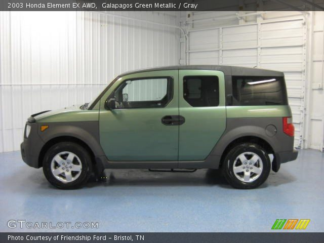 galapagos green metallic 2003 honda element ex awd. Black Bedroom Furniture Sets. Home Design Ideas